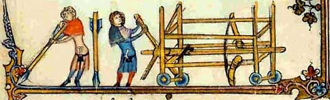 the difference between a ballista and a springald or espringal