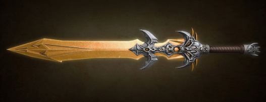 unrealistic fantasy swords compared to real historical medieval swords